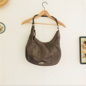 Elliott Lucca Grey Woven Bag